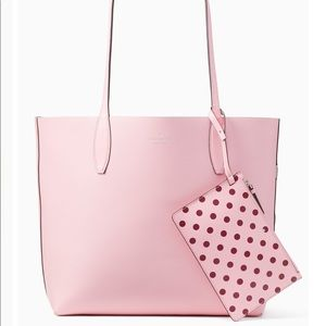 Kate spade tote and wristlet bundle